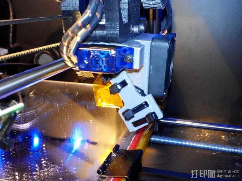 e3d喷头的风扇 3D模型  图7