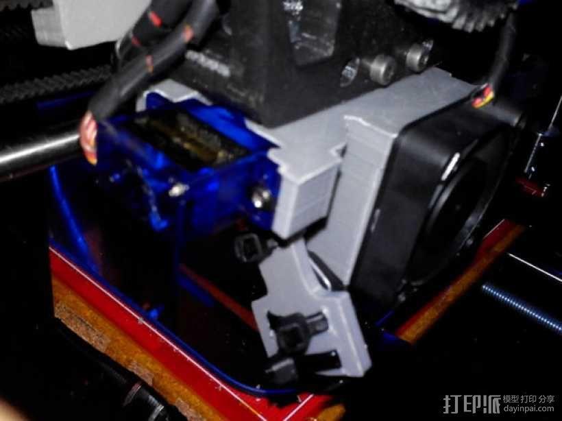 e3d喷头的风扇 3D模型  图8
