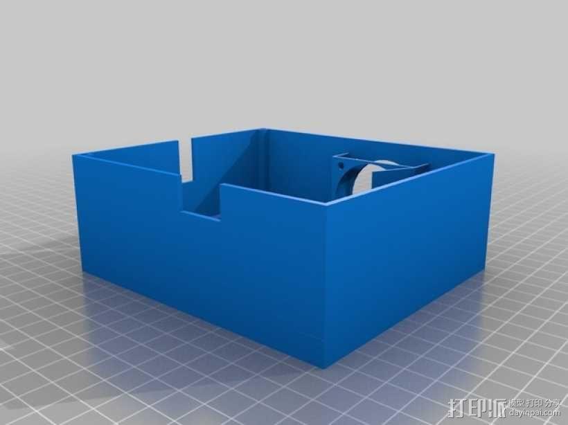 SmartRap电路板保护罩 3D模型  图1