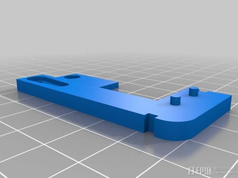 自动调平器 3D模型  图2