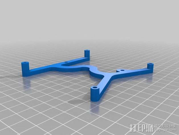 LCD显示器支撑架 3D模型  图4