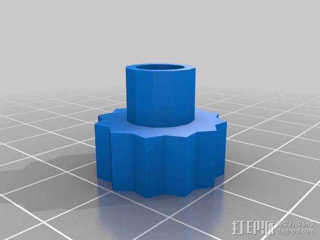 LCD显示器支撑架 3D模型  图6