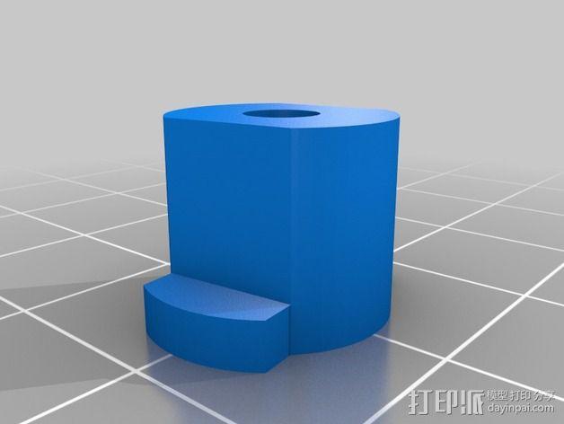 LCD显示器支撑架 3D模型  图5