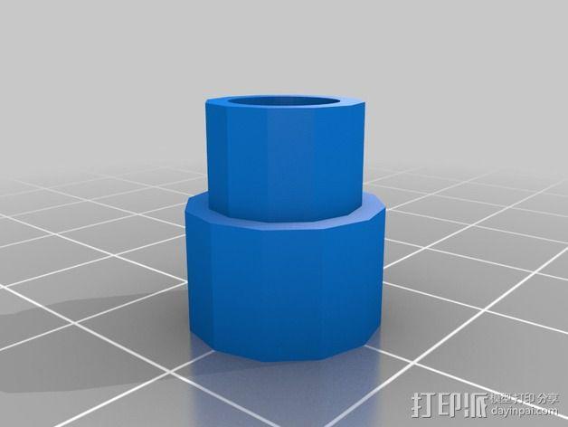 LCD显示器支撑架 3D模型  图8