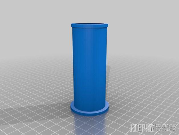 线卷支架和线材夹 3D模型  图5