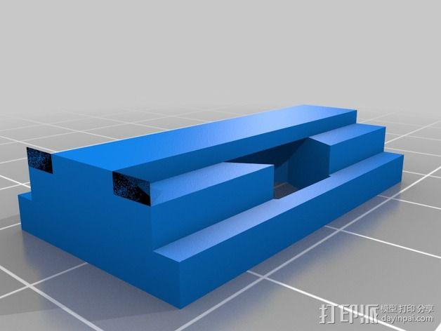 线卷支架和线材夹 3D模型  图4