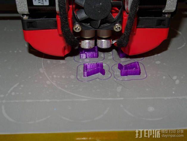 线卷支架和线材夹 3D模型  图9