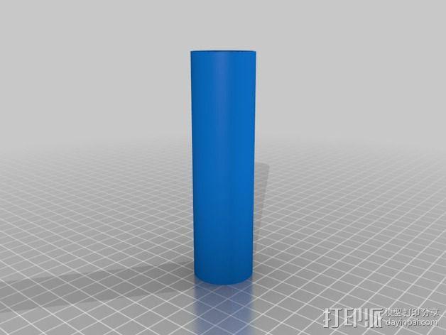 圆柱打印测试 3D模型  图2