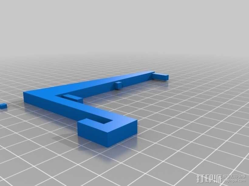 工具架 工具盒 3D模型  图2