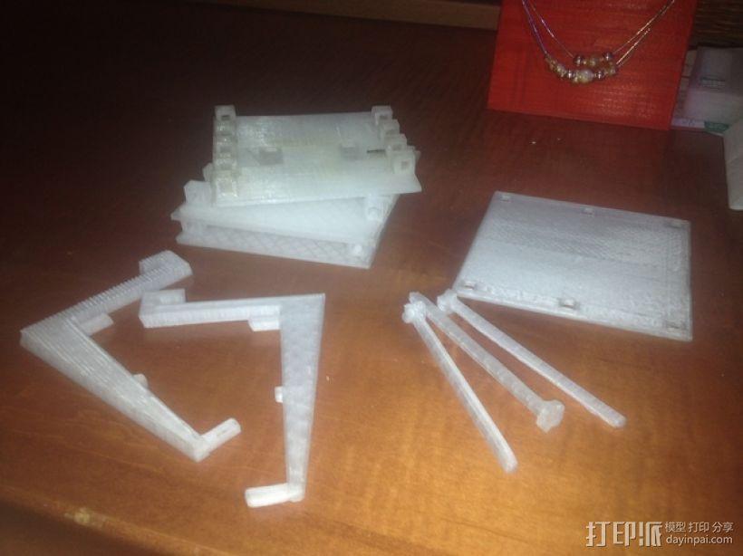 工具架 工具盒 3D模型  图1