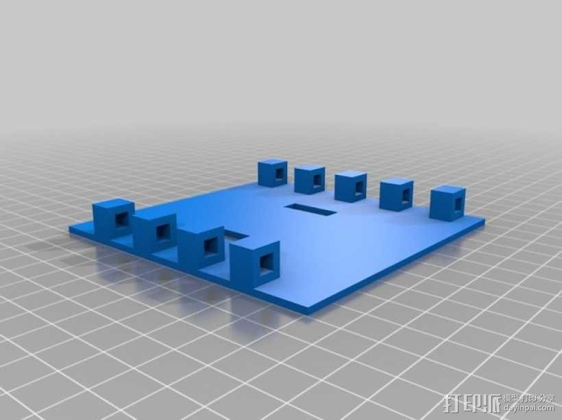 工具架 工具盒 3D模型  图3