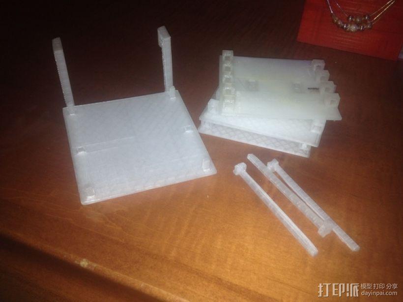工具架 工具盒 3D模型  图7
