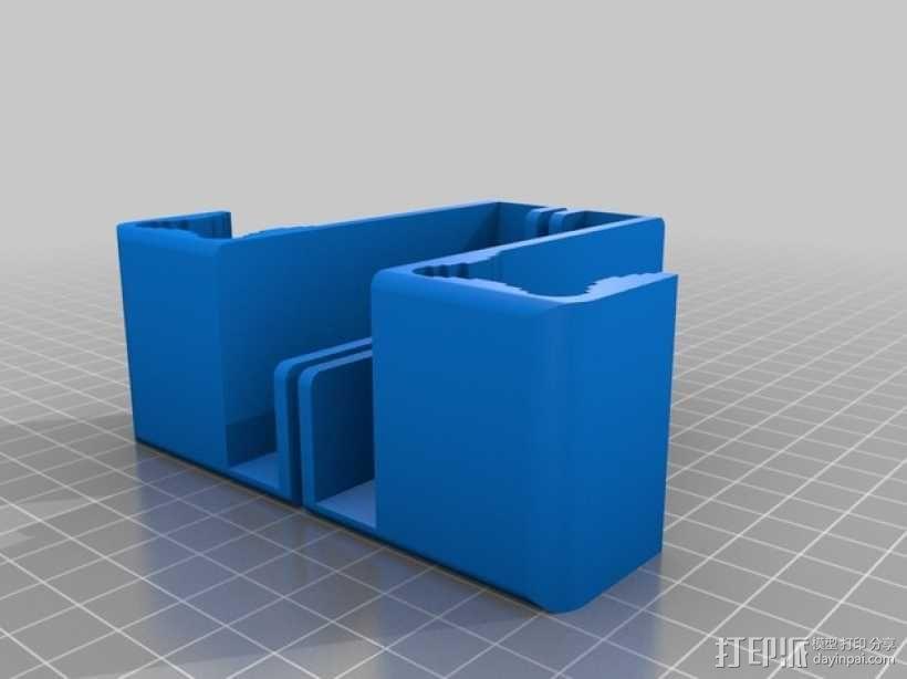 iPad Air平板电脑支架 3D模型  图2