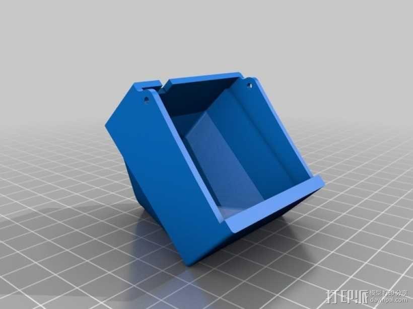 PRINTRBOT PLUS 2.1打印机的风扇导管 3D模型  图2