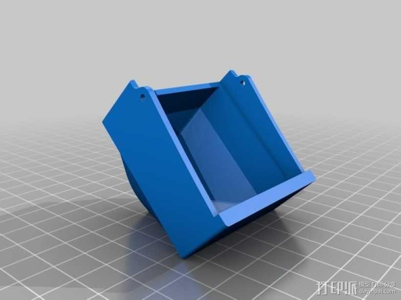 PRINTRBOT PLUS 2.1打印机的风扇导管 3D模型  图3