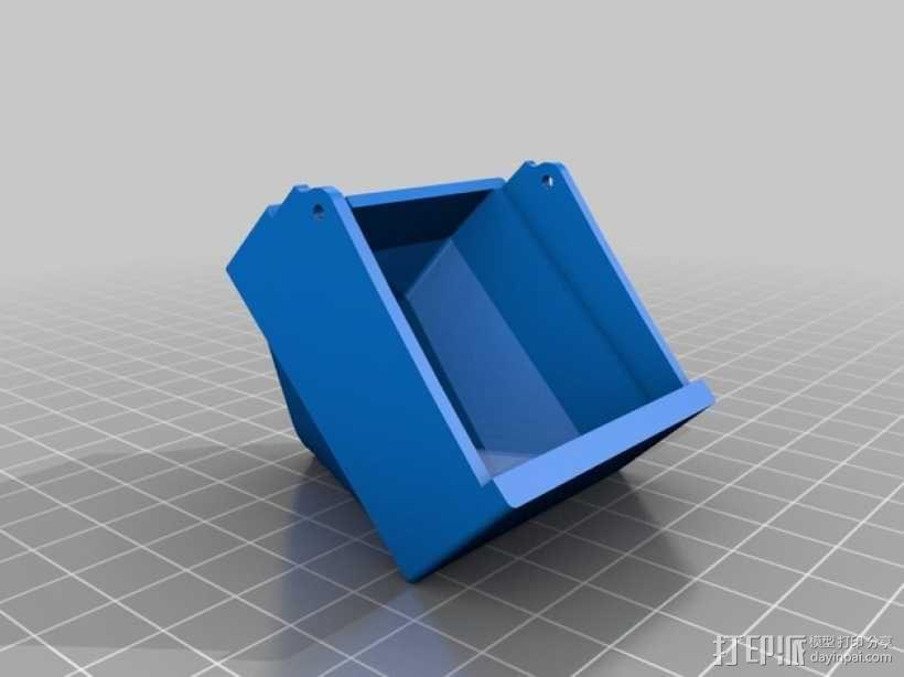 PRINTRBOT PLUS 2.1打印机的风扇导管 3D模型  图4