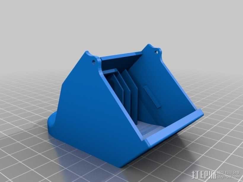 PRINTRBOT PLUS 2.1打印机的风扇导管 3D模型  图6