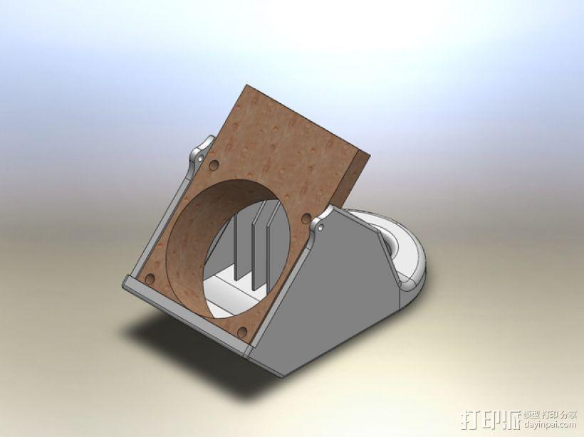 PRINTRBOT PLUS 2.1打印机的风扇导管 3D模型  图7