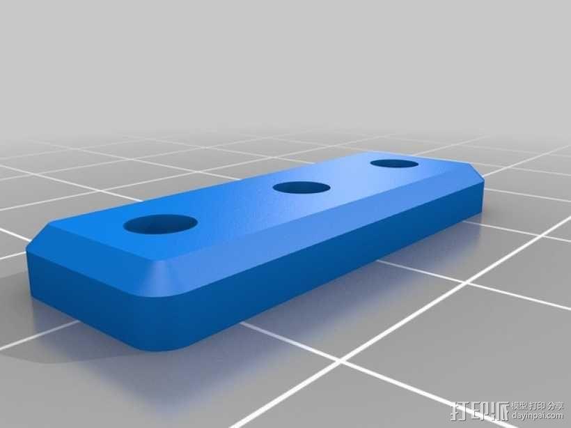 Ultimaker打印机的铝制加热床 3D模型  图4