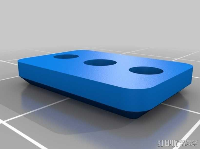 Ultimaker打印机的铝制加热床 3D模型  图7
