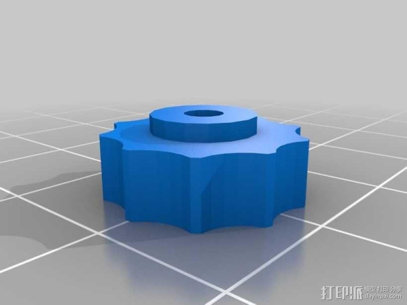 Ultimaker打印机的铝制加热床 3D模型  图5