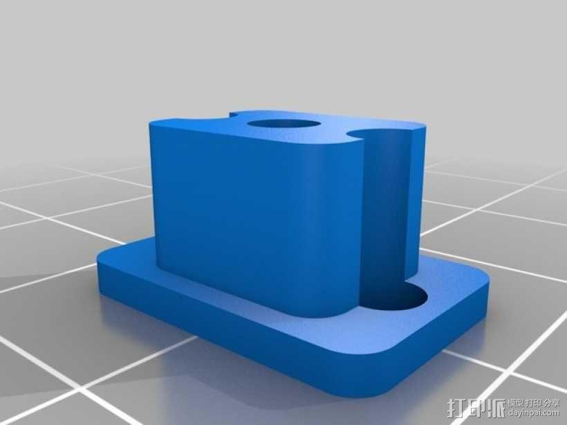 Ultimaker打印机的铝制加热床 3D模型  图6