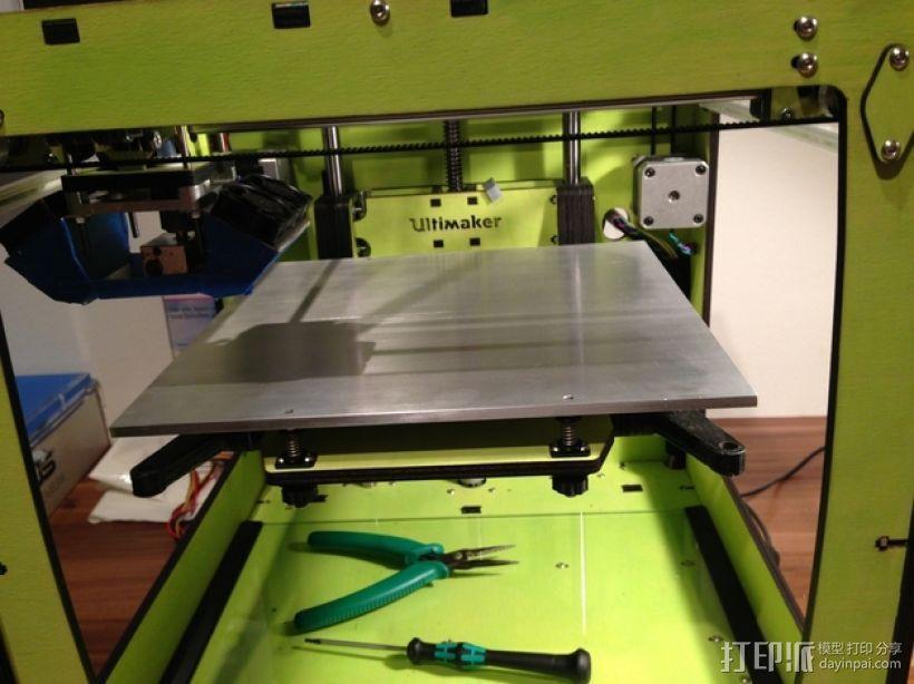 Ultimaker打印机的铝制加热床 3D模型  图9
