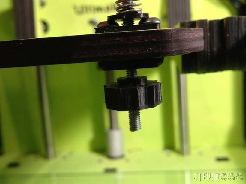Ultimaker打印机的铝制加热床 3D模型  图8