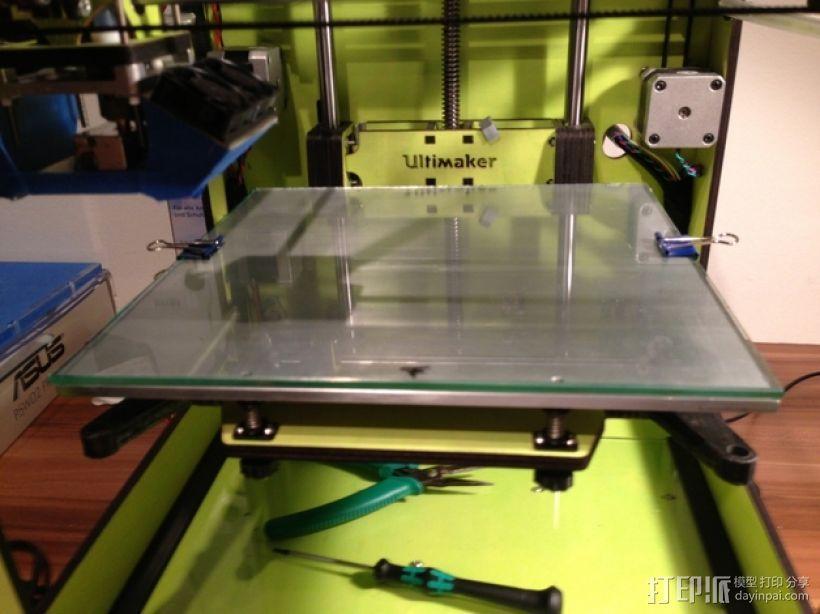 Ultimaker打印机的铝制加热床 3D模型  图10