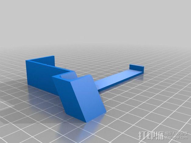 电源支撑框 支撑器 3D模型  图2