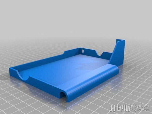 电源支撑框 支撑器 3D模型  图3