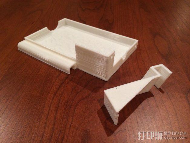 电源支撑框 支撑器 3D模型  图1