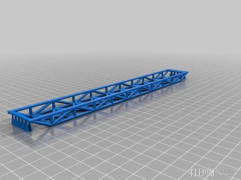 space 1999 桁架桥 3D模型  图1