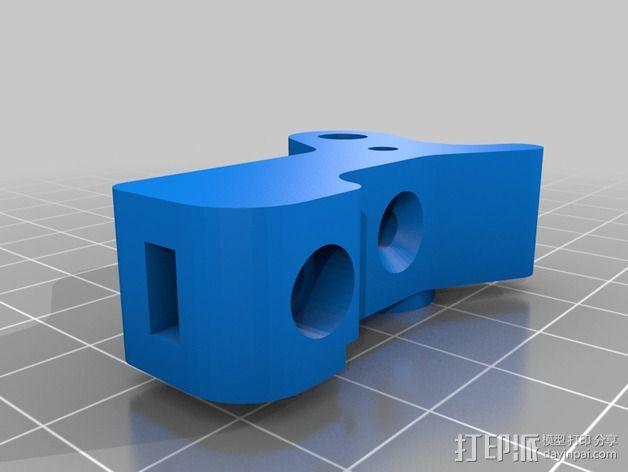 步进马达挤出机 3D模型  图4
