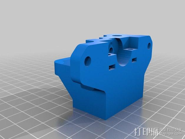 步进马达挤出机 3D模型  图5