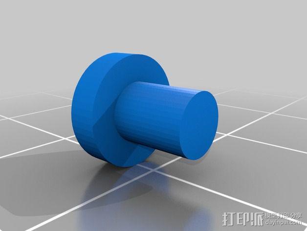 步进马达挤出机 3D模型  图6