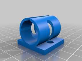 Prusa i3打印机Y轴轴承支架 3D模型