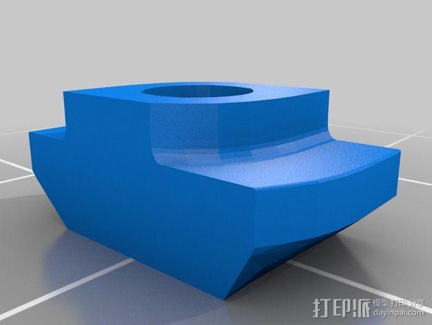 智能控制器安装套件 3D模型  图2