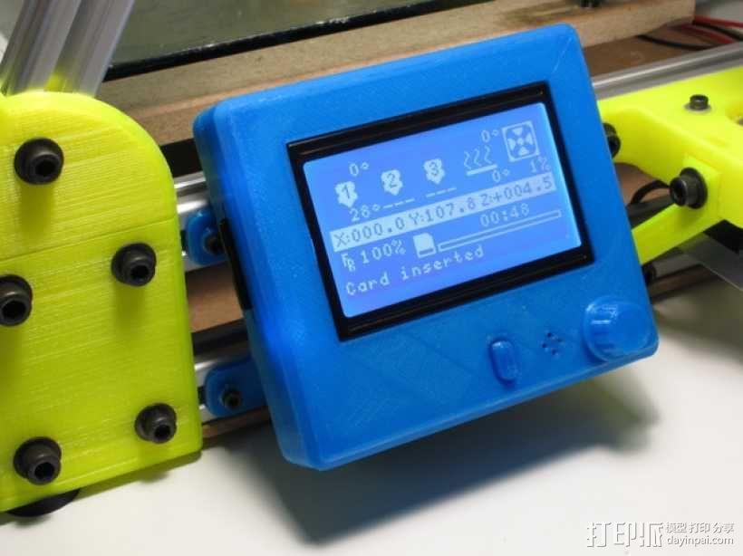 智能控制器安装套件 3D模型  图1