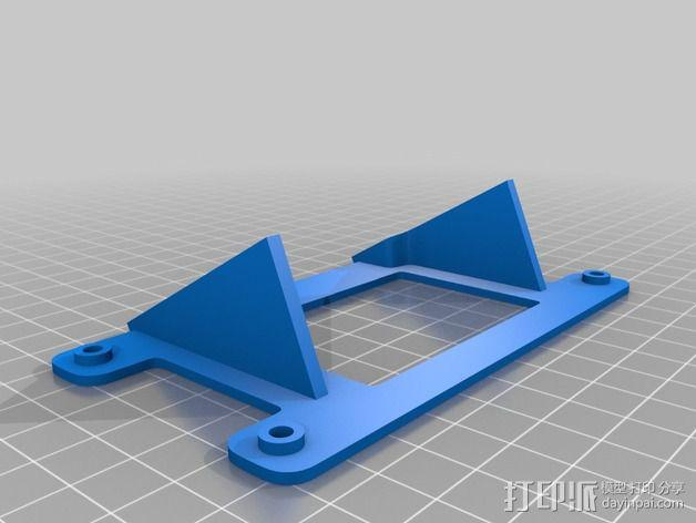 智能控制器安装套件 3D模型  图4