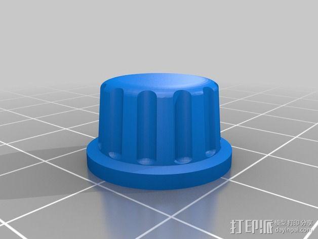 智能控制器安装套件 3D模型  图3