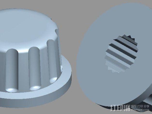 智能控制器安装套件 3D模型  图7