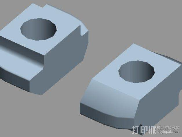 智能控制器安装套件 3D模型  图8