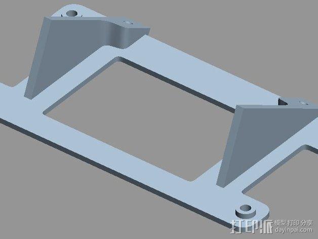 智能控制器安装套件 3D模型  图6