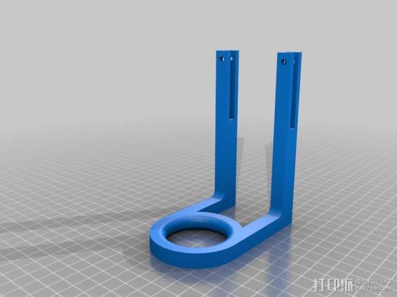 Prusa i3打印机的导线器 3D模型  图1