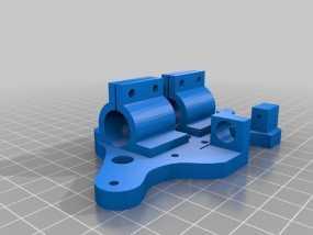 鲍登管支架 3D模型