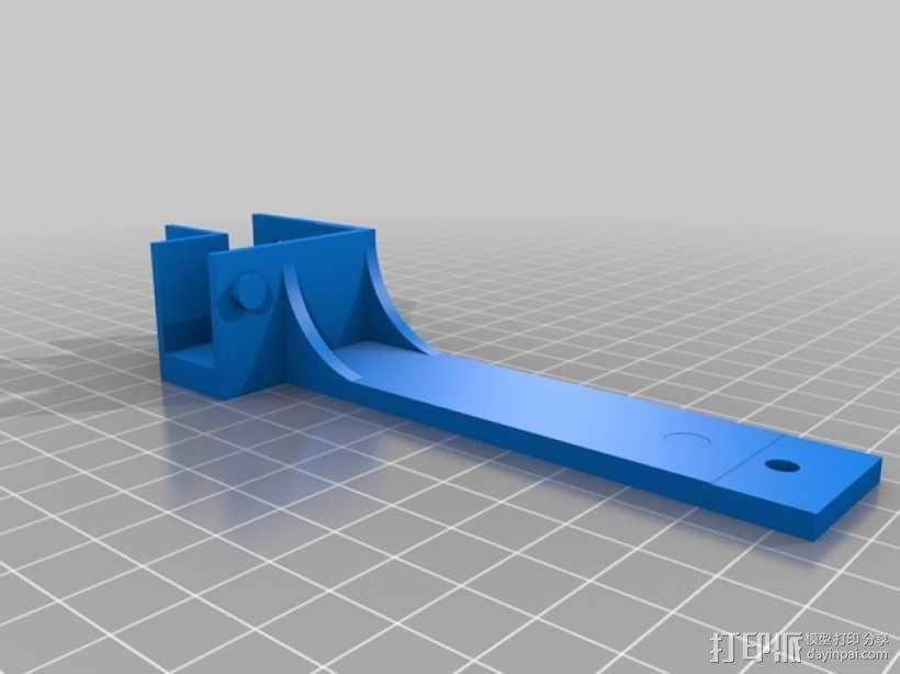 锚链支架 3D模型  图3
