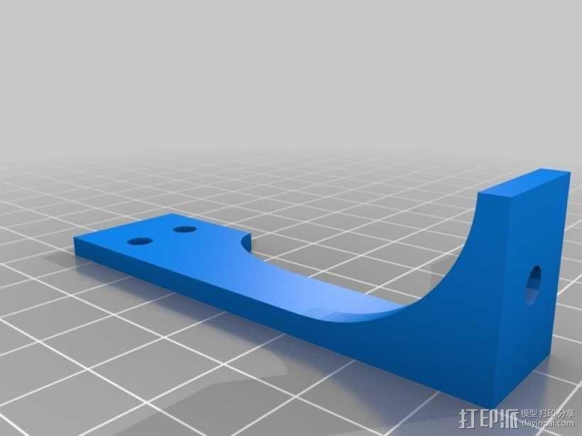 锚链支架 3D模型  图4