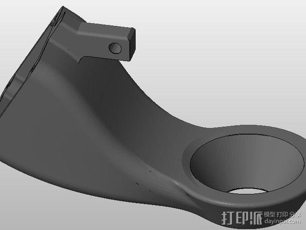 风扇通风导管 3D模型  图1