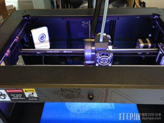 WiFi摄相机支撑框 3D模型  图3